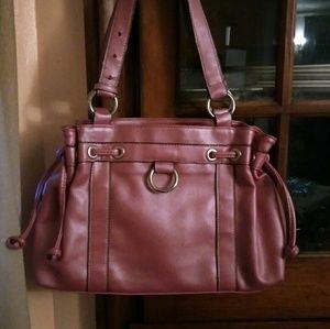 Women's Rose Pink Hand Bag /Mondani New York